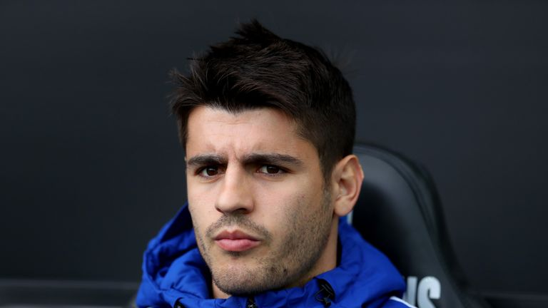 Morata's confidence was affected by being regularly substituted by Antonio Conte last season