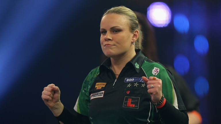 Anastasia Dobromyslova will feature at the PDC World Championship next month