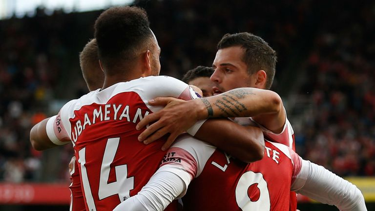 Arsenal got their first win of the season against West Ham last weekend