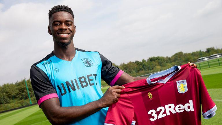 Axel Tuanzebe will spend the 2018/19 season on loan at Aston Villa