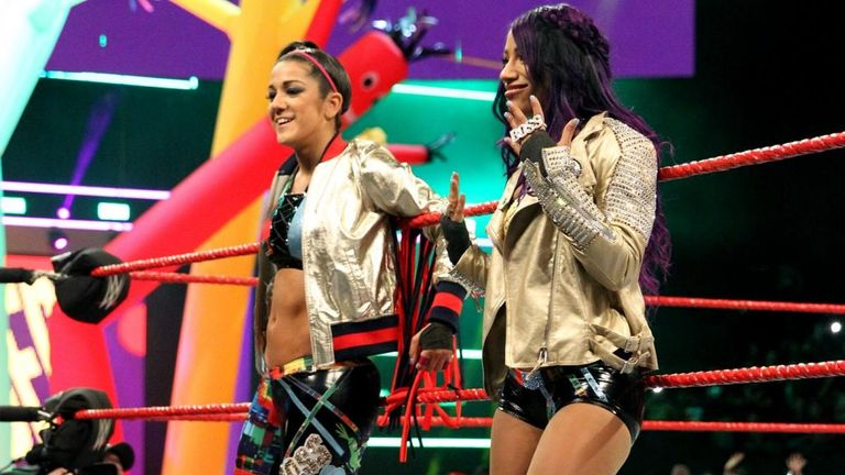 Bayley and Sasha Banks won again as the Boss and Hug Connection - was this your favourite WWE moment this week?