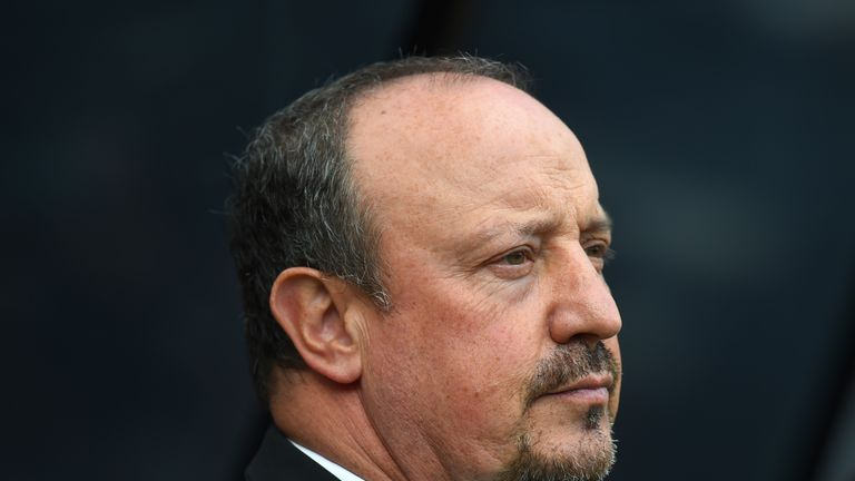 Rafa Benitez expressed his concern about Newcastle's spending in the summer