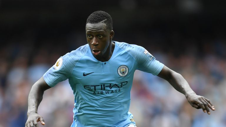 Mendy played only seven league games for City last season after suffering a serious knee injury