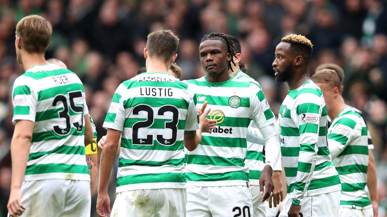 Dedryck Boyata scored the only goal of the game as Celtic beat Hamilton