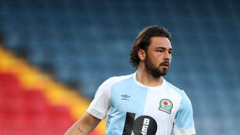 Bradley Dack gave Rovers the lead with a brilliantly taken goal on 76 minutes