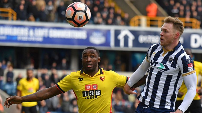 Brice Dja Djedje has left Watford after two years at the club