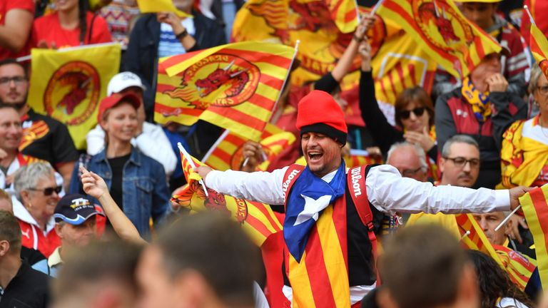 Catalans fans will hope their team can build on the Wembley success