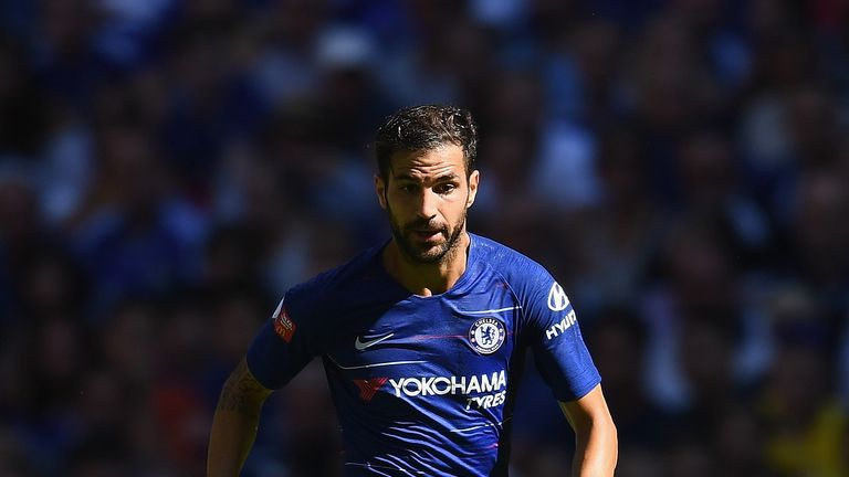 Cesc Fabregas is out of contract next summer