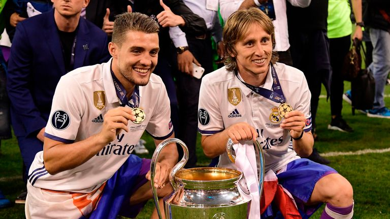 The midfielder was also crucial in Real Madrid winning a third consecutive Champions League title