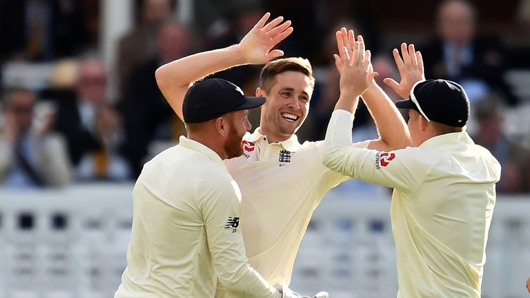 Chris Woakes impressed on his return to the England Test team