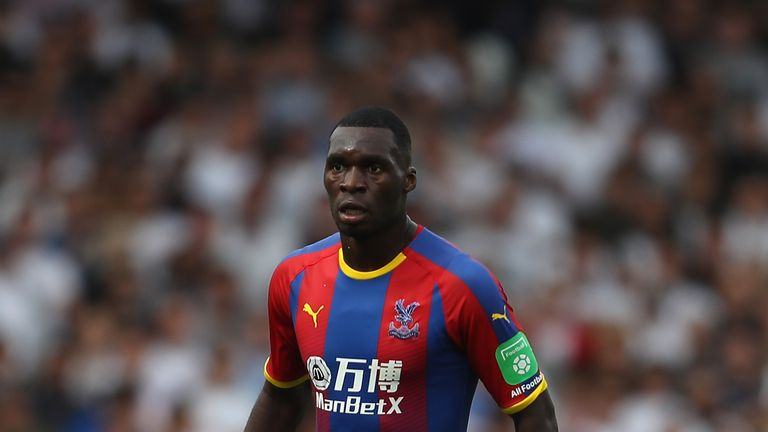 Christian Benteke will not feature for Crystal Palace on Wednesday through injury