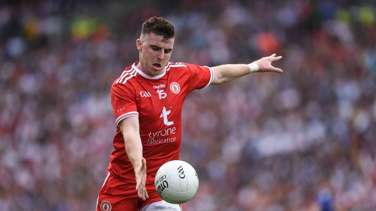 Connor McAliskey was clinical against Monaghan