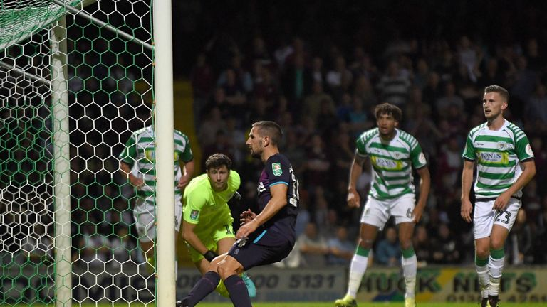 Conor Hourihane scored Aston Villa's only goal at Yeovil