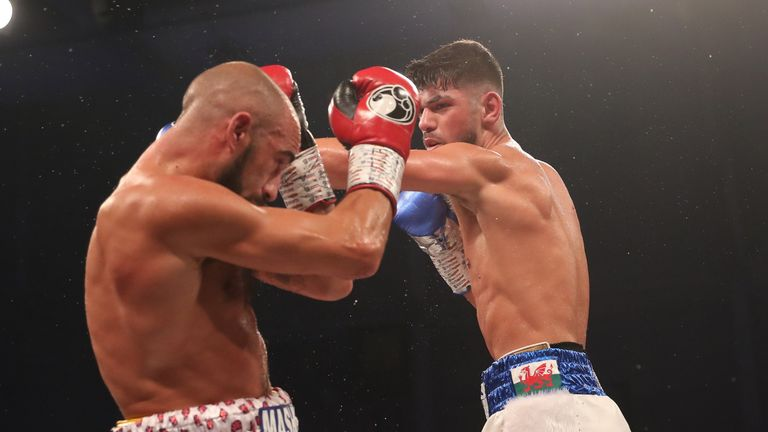 Cordina worked away with the left hand throughout