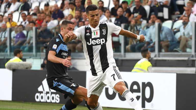 Cristiano Ronaldo did not score for Juventus against Lazio