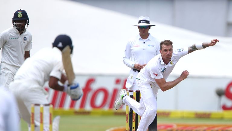 Dale Steyn says Anderson's focused approach has helped his quest for wickets