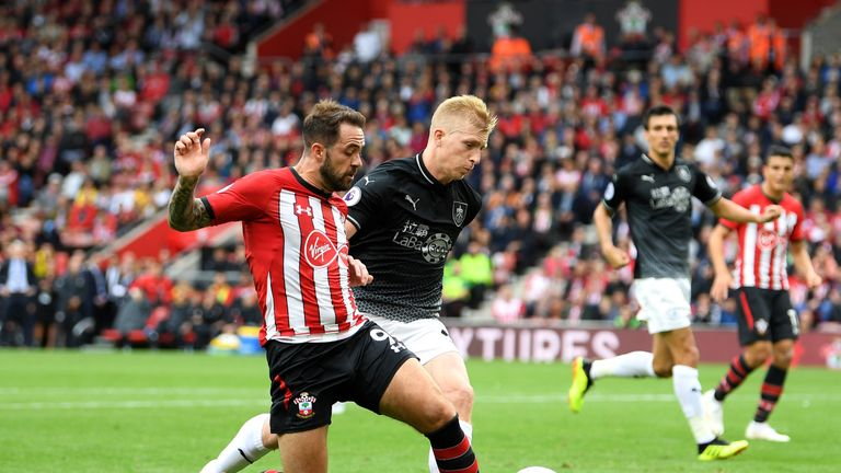 Danny Ings made his Southampton debut against Burnley on the opening weekend of the season