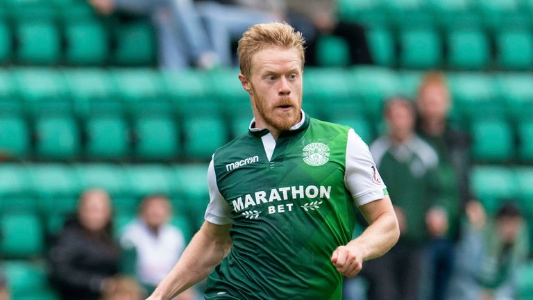 Hibernian winger Daryl Horgan has one goal in three games for Hibs since joining the club