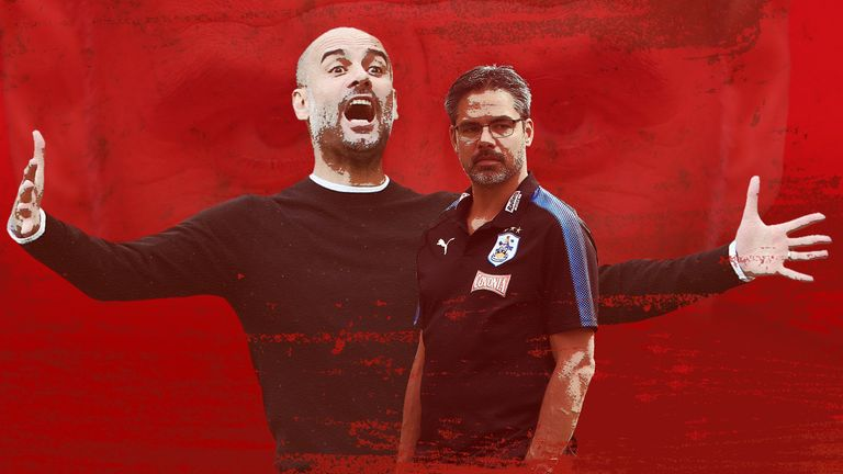 David Wagner's Huddersfield are  looking to take down the Goliath that is Man City