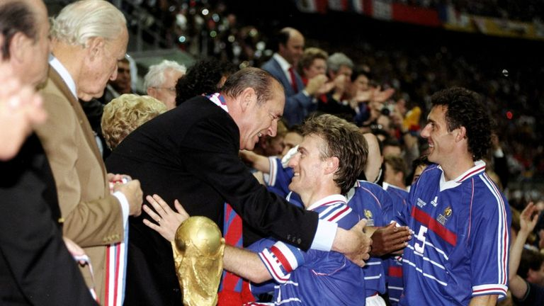 Didier Deschamps won the World Cup as a player with France in 1998