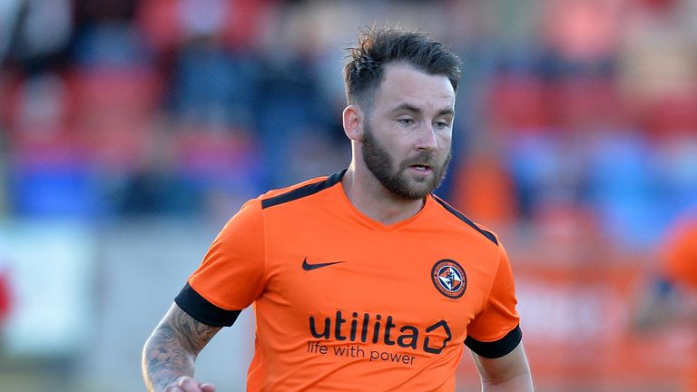 James Keatings has rejoined Hamilton from Dundee