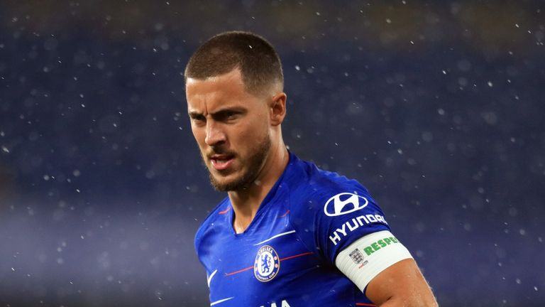 Eden Hazard came off the bench and scored the winning penalty in the shootout for Chelsea