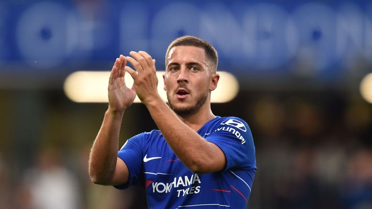 Eden Hazard has been in fine form this season for Chelsea