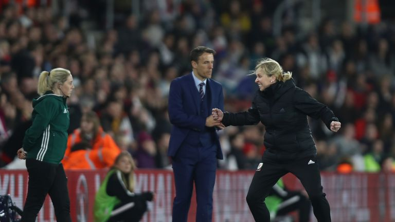 Wales were the happier side when they drew 0-0 with England at St Mary's in the return fixture