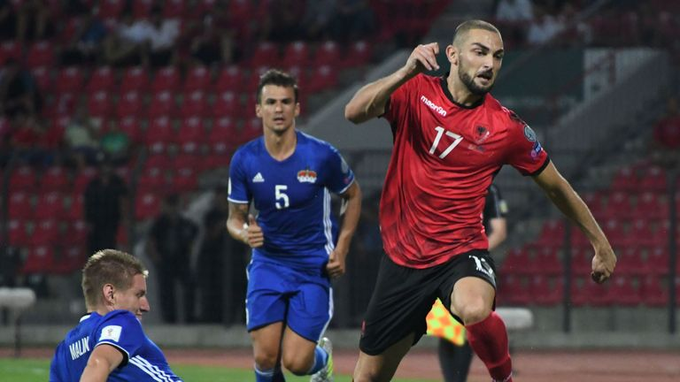 Eros Grezda joined Rangers in a £2m deal from Osijek