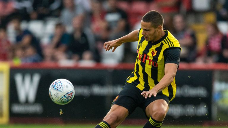 Rodwell featured in Watford's pre-season friendly against Brentford