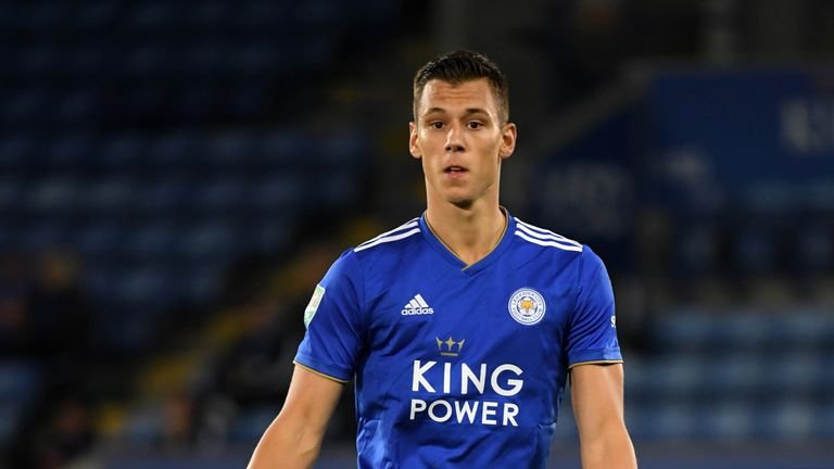 Filip Benkovic made his debut for Leicester earlier this week against Fleetwood