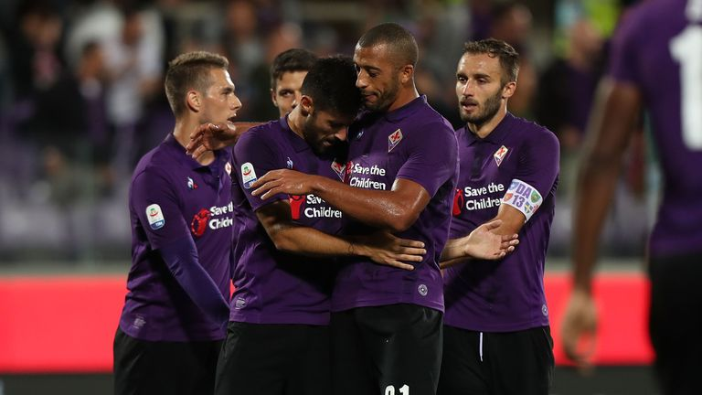 Fiorentina started their Serie A campaign with a big win over Chievo