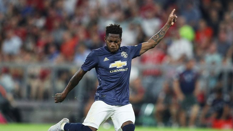 Fred was United's standout player