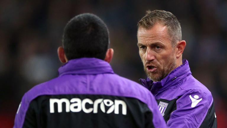 Rowett struggled for results with Stoke
