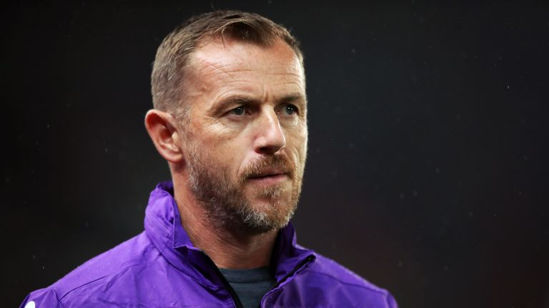 Gary Rowett has had a difficult start to life at Stoke