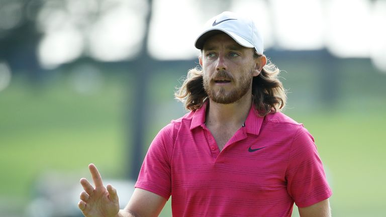 Tommy Fleetwood is bidding for a third straight win in the event