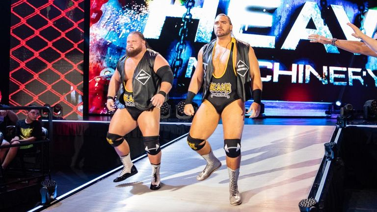 Heavy Machinery could be on the verge of an NXT tag title shot after a strong week