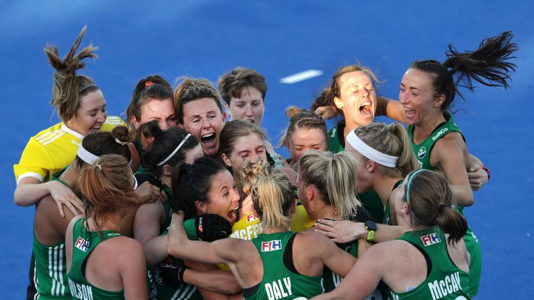 Jubilation for Ireland as they make the semi-finals for the first time