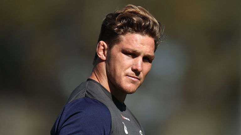 Michael Hooper felt his hamstring in training on Thursday