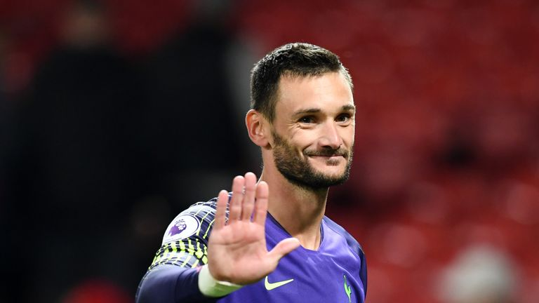 Hugo Lloris has only started eight league games but matches Manchester City's Ederson in the rankings