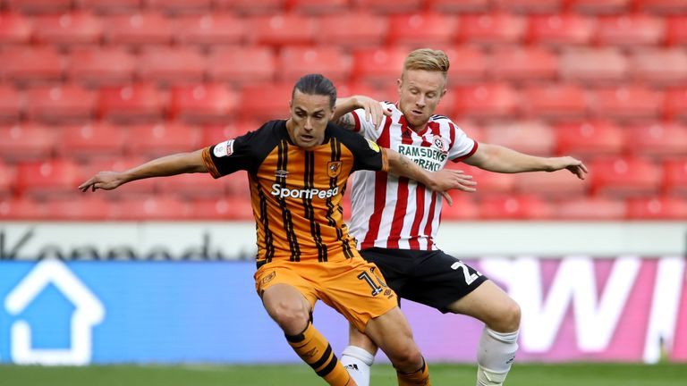 Jackson Irvine is a doubt for Hull