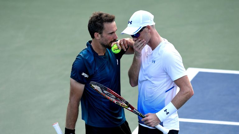 Jamie Murray (right) and Bruno Soares have qualified for the ATP Finals