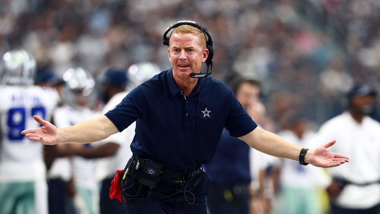 Garrett has a 67-53 record for the Cowboys in eight seasons, but only has one playoff win