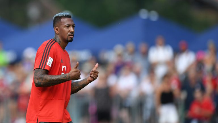 Jerome Boateng has made 156 appearances for Bayern Munich