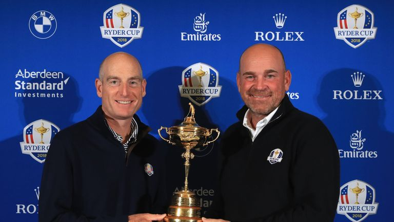 Which captain will be lifting the Ryder Cup on September 30?