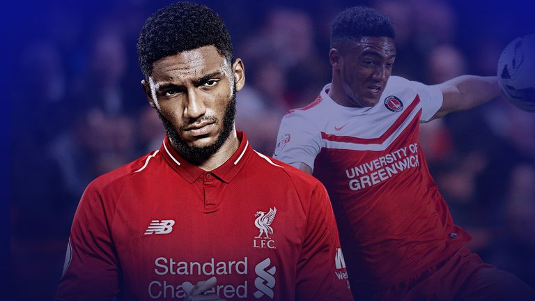 Joe Gomez joined Liverpool from Charlton in 2015