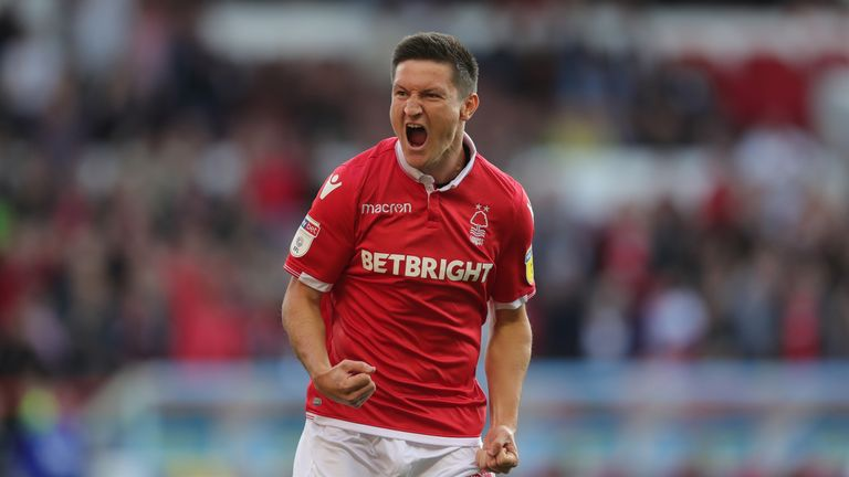 Joe Lolley has been a key man for Nottingham Forest this season
