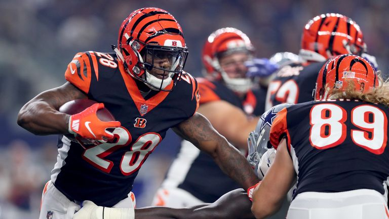 Joe Mixon is looking for a big second season in the NFL