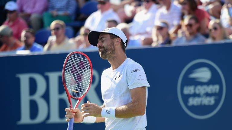 Steve Johnson was aiming to add to his titles in Newport and Houton