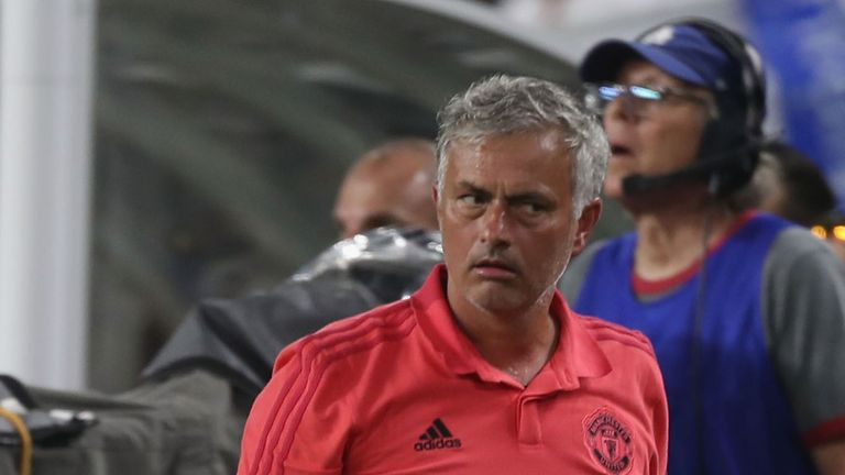 Mourinho's critics believe he has been negative during pre-season